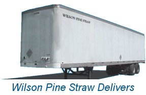 Wilson Pine Straw Semi Trailer